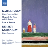 Album artwork for Kabalevsky: Piano Concerto No. 3, Rhapsody (Liu)