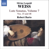 Album artwork for WEISS - LUTE SONATAS, VOL. 7