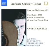 Album artwork for GORAN KRIVOKAPIC - GUITAR RECITAL