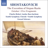 Album artwork for SHOSTAKOVICH: THE EXECUTION OF STEPAN RAZIN