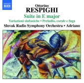 Album artwork for RESPIGHI: SUITE IN E MAJOR