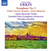 Album artwork for Erkin: Köçekçe - Violin Concerto - Symphony No.
