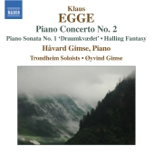 Album artwork for EGGE: PIANO CONCERTO NO. 2
