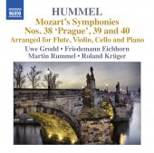 Album artwork for Hummel: Mozart arranged for Flute, Violin, Cello &