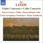 Album artwork for Linde: Violin, Cello Concertos / Gomyo, Kliegel