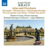 Album artwork for Kraus: Arias and Overtures / Groop, Hakkinen