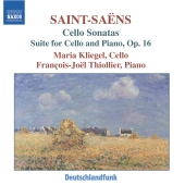 Album artwork for SAINT-SAENS: CELLO SONATAS