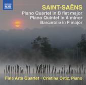 Album artwork for Saint-Saens: Piano Quartet & Quintet