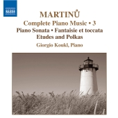 Album artwork for MARTINU: PIANO MUSIC, VOL. 3