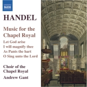 Album artwork for Handel: Music for the Chapel Royal