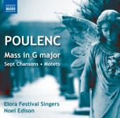 Album artwork for Poulenc: Motets, Mass In G / Elora Festival Singer