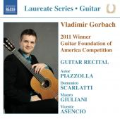Album artwork for Vladimir Gorbach: Guitar Recital