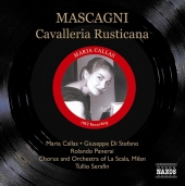 Album artwork for CAVALLERIA RUSTICANA