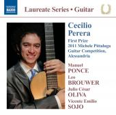 Album artwork for Cecilio Perera: Guitar Recital