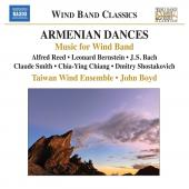 Album artwork for Taiwan Wind Ensemble: Armenian Dances