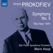 Album artwork for Prokofiev: Symphony No. 5, The Year 1941