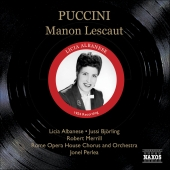 Album artwork for MANON LESCAUT