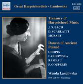 Album artwork for TREASURY OF HARPSICHORD MUSIC / DANCES OF ANCIENT