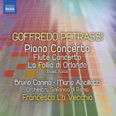 Album artwork for Petrassi: Piano Concerto, Flute Concerto, etc