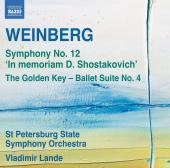 Album artwork for Weinberg: Symphony no. 12