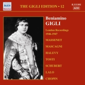 Album artwork for BENIAMINO GIGLI - VOLUME 12