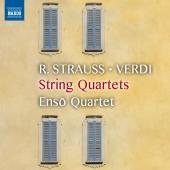 Album artwork for String Quartets by R. Strauss, Veri, Puccini