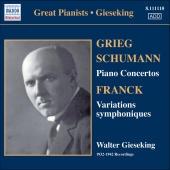 Album artwork for SCHUMANN, GRIEG & FRANCK