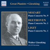 Album artwork for GREAT PIANISTS: GIESEKING