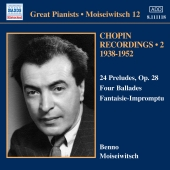 Album artwork for Benno Moiseiwitsch: Chopin Recordings Vol. 2