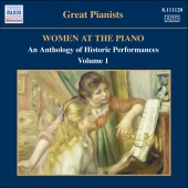Album artwork for WOMEN AT THE PIANO: AN ANTHOLOGY OF HISTORIC PERFO