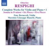 Album artwork for Respighi: Complete Works for Violin & Piano vol.1
