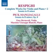 Album artwork for Respighi: Complete works for violin & piano vol.2