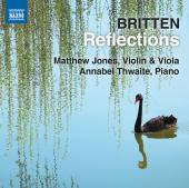 Album artwork for Britten: Reflections, Violin and Viola Music