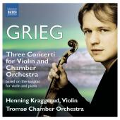 Album artwork for Grieg: Violin Sonatas transcribed for chamber orch