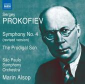 Album artwork for Prokofiev: Symphony 4, Prodigal Son / Alsop