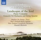 Album artwork for Cresswell: Landscapes of the Soul, Piano Concerto