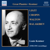 Album artwork for LOUIS KENTNER: 1938-1951 RECORDINGS