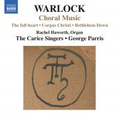 Album artwork for Warlock: Choral Music