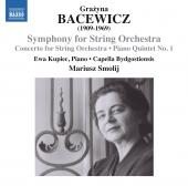 Album artwork for Bacewicz: Symphony for Strings