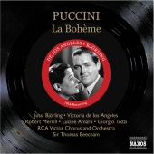Album artwork for PUCCINI: LA BOHEME