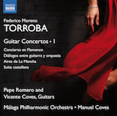 Album artwork for Torroba: Guitar Concertos vol.1