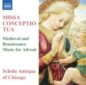 Album artwork for Missa Conceptio Tua / Schola Antiqua of Chicago