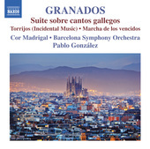 Album artwork for Granados: Suite Sobre Cantos Gallegos, Torrijos &
