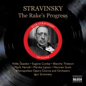 Album artwork for STRAVINSKY: THE RAKE'S PROGRESS