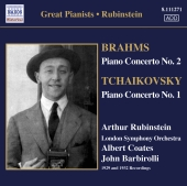 Album artwork for Arthur Rubinstein: Brahms / Tchaikovsky