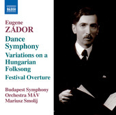 Album artwork for Zádor: Symphony No. 3