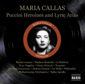 Album artwork for Maria Callas: Puccini Heroines and Lyric Arias