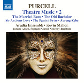 Album artwork for Purcell: Theatre Music, Vol. 2 / Ansell, Nedecky,