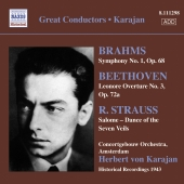 Album artwork for Karajan: Brahms, Beethoven, R. Strauss