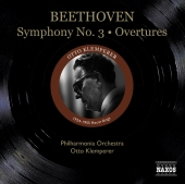 Album artwork for Beethoven: Symphony 3, Overtures (Klemperer)